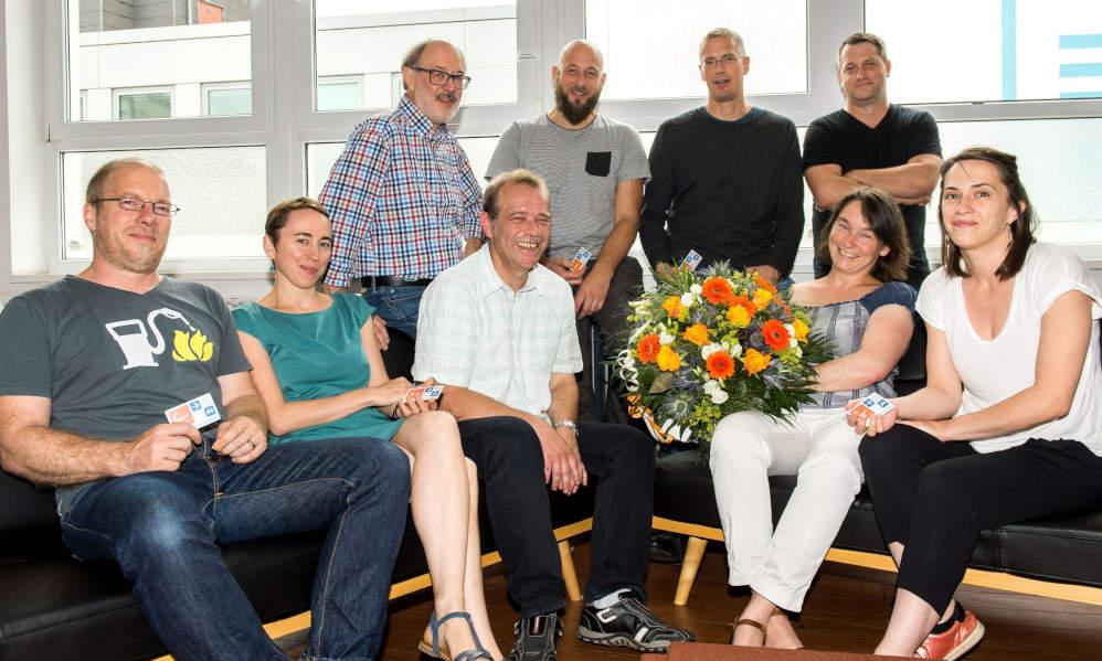 cambio CarSharing begrüßt mit dem K8 Institut für strategische Ästhetik einen Geschäftskunden als 1.000 CarSharing-Kunden in Saarbrücken.