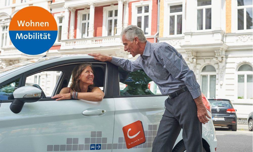 Wohnen und Mobilität - CarSharing verbessert Lebensqualität in Wohnquartieren