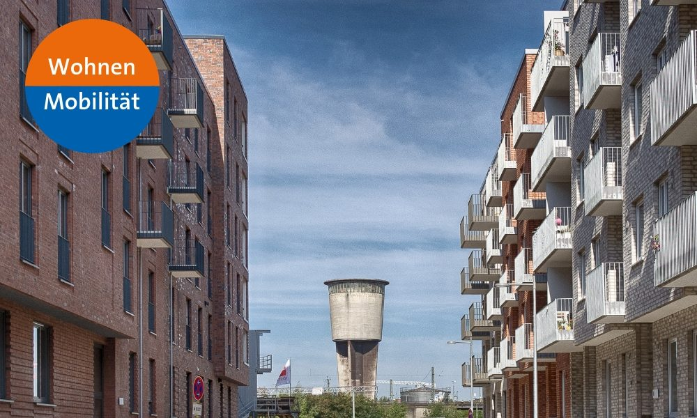 Ein neues Wohnquartier entsteht - bei der Planung der Mitte Altona wurde nachhaltige Mobilität von Beginn an mitgedacht.